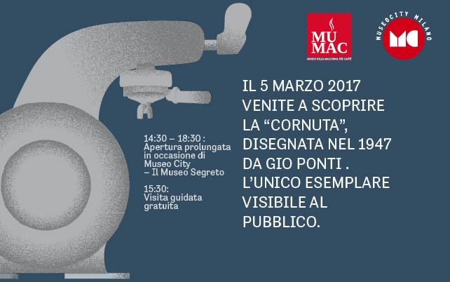 La Cornuta di Gio Ponti protagonista di Museo City Milano al Mumac